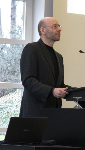 Fr. Daniel Findikyan lectures at the University of Bonn, Germany