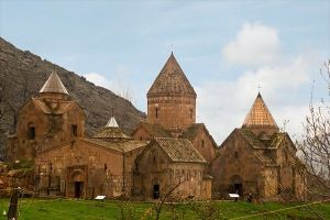"The monastery of Goshavank in central Armenia was named after the great monk Mkhitar ""the Beardless"""