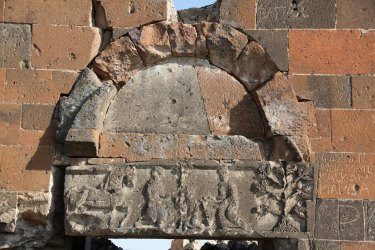 Sculpted images on the exterior of the 7th century Armenian Cathedral of Mren may reveal more than meets the eye.