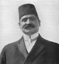 Grand Vizir Talaat Pasha was murdered on March 15, 1921 in Berlin by Soghomon Tehlirian as vengeance for his role in the Armenian Genocide.