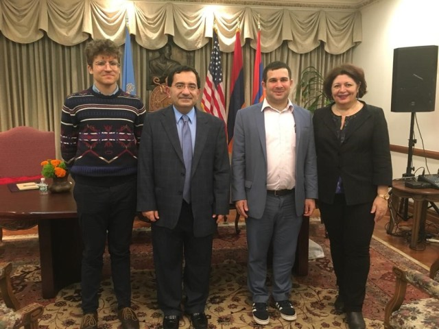 Western Armenian Panelists