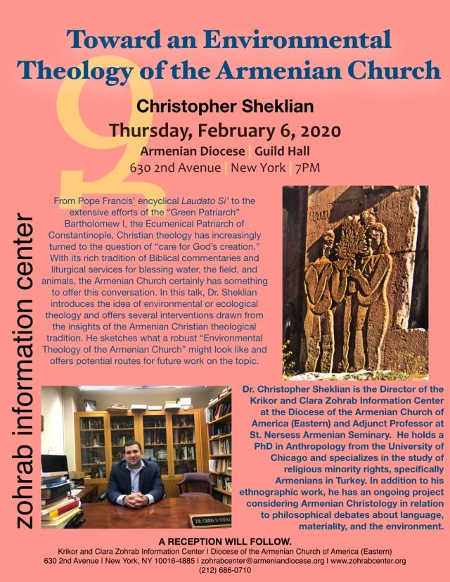 Environmental Theology Sheklian ZIC Presentation 2.6.20.001