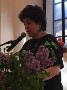 Lola Koundakjian reading